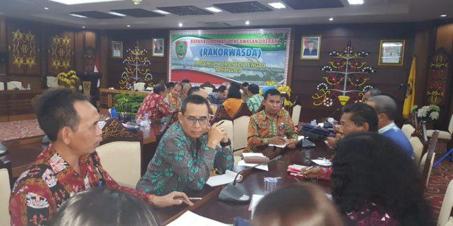 Rapat Koordinasi Pengawasan Daerah Provinsi Kalimantan Tengah Tahun 2018
