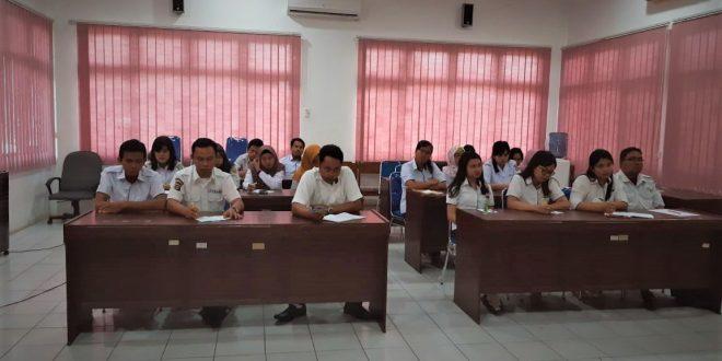 Rapat Internal Pegawai Tidak Tetap Di inspektorat Kota Palangka Raya