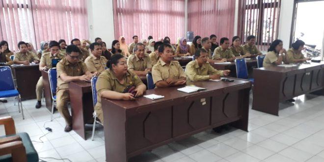 Rapat Internal Awal Tahun 2019 Inspektorat Kota Palangka Raya
