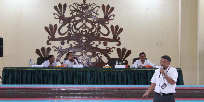 Rapat Pembahasan Temuan Awal BPK RI Perwakilan Provinsi Kalimantan Tengah