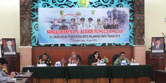 Sosialisasi Pungutan Liar Oleh Tim Saber Pungli Tahun 2019