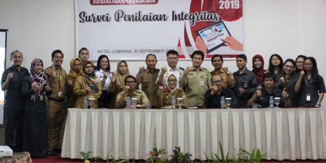 Peran Inspektorat Kota Palangka Raya dalam Kegiatan Survei Penilaian Integritas Tahun 2019 di Lingkungan Pemerintah Kota Palangka Raya