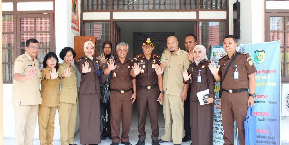 Kunjungan Kejaksaan Agung pada Tim Saber Pungli Kota Palangka Raya