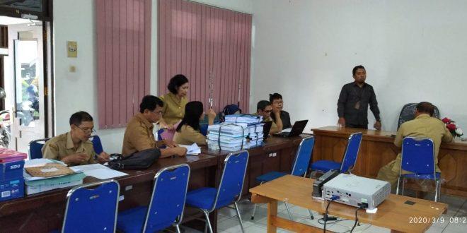 Kegiatan Sensus Penduduk oleh BPS Kota Palangka Raya pada Inspektorat Kota Palangka Raya