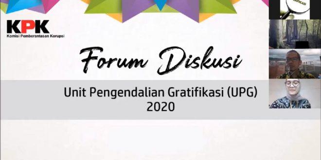 Forum Diskusi Unit Pengendali Gratifikasi (UPG)