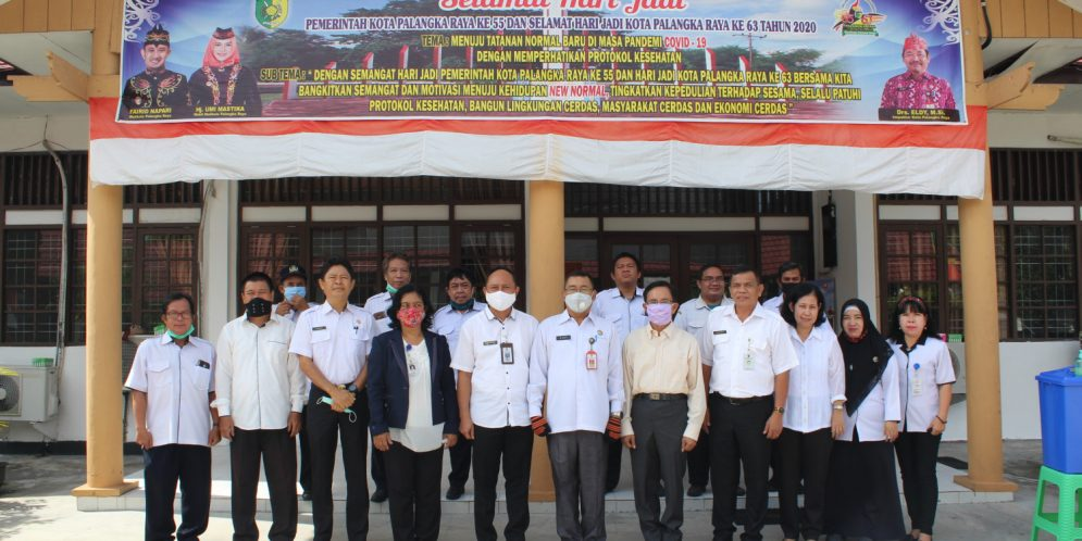 Pelepasan Pegawai Fungsional P2UPD yang Purna Tugas