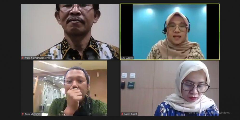 Web Seminar Kapabilitas APIP oleh KPK RI