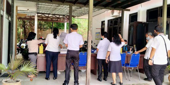 Tes RAPID dan SWAB Seluruh Pegawai Inspektorat Kota Palangka Raya