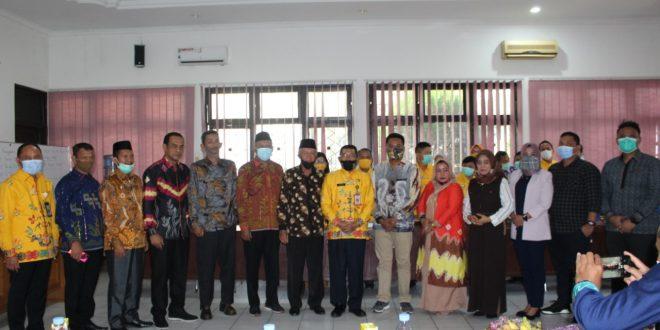 Kunjungan Komisi I DPRD Kabupaten Tanah Bumbu Kalimantan Selatan ke Inspektorat Kota Palangka Raya