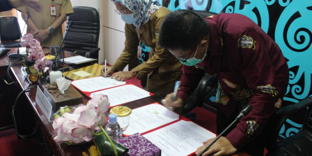 Bimbingan Konseling dan Penandatanganan MoU bersama BPKP Perwakilan Provinsi Kalimantan Tengah