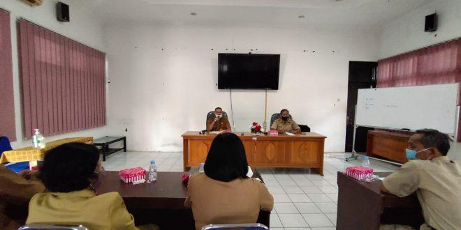Rapat Internal Inspektorat Kota Palangka Raya
