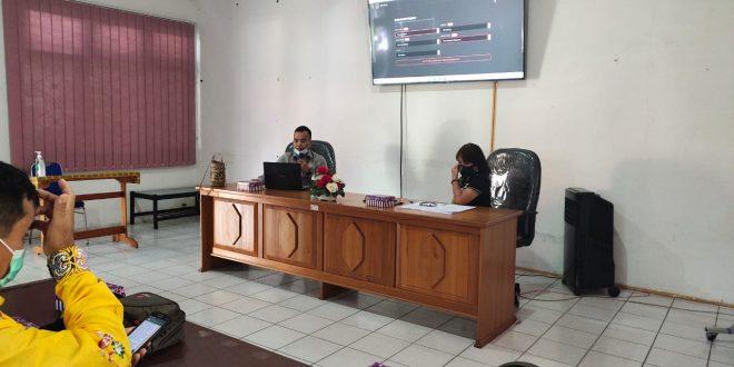 Pelatihan Kantor Sendiri Tentang Reviu Dana DAK Fisik TA. 2021 SOPD Pemko Palangka Raya