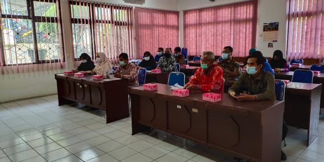 Sosialisasi Baznas (Badan Amil Zakat Nasional) Perwakilan Kota Palangka Raya ke Inspektorat Kota Palangka Raya