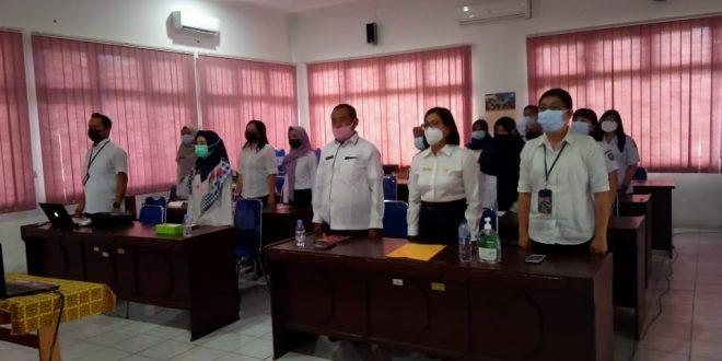 Penyerahan LHR LKPD TA 2020 kepada BPK RI Perwakilan Kalimantan Tengah