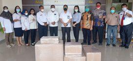 Kegiatan Saksi Serah Terima Alat Kesehatan di RSUD Kota Palangka Raya
